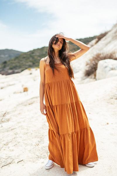 Φόρεμα με βολάν