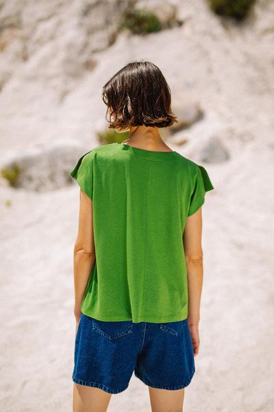 Μπλούζα με άνοιγμα στα μανίκια