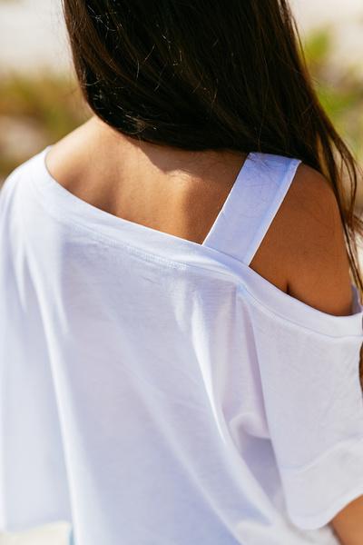Μπλούζα με έναν ώμο