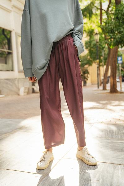 Παντελόνα με λάστιχο