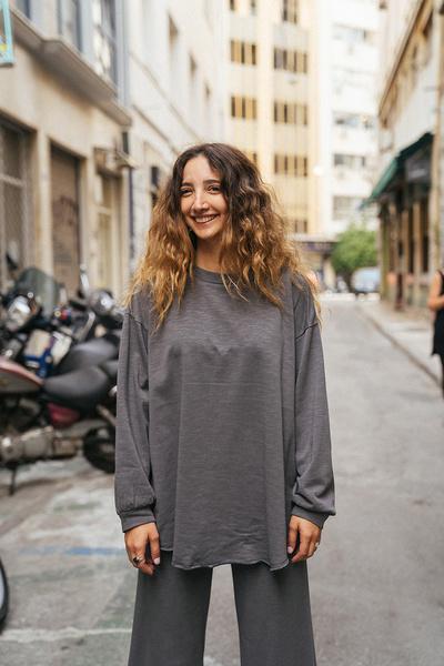 Oversize μπλούζα