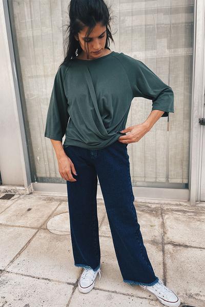 Ντραπέ μπλούζα