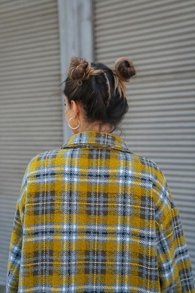 Καρο πουκάμισο-σακάκι